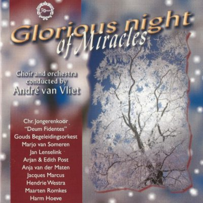 "Kerst CD	""Glorious night of Miracles"""