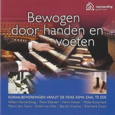 """Orgel-cd """"Bewogen door handen en voeten"""""""
