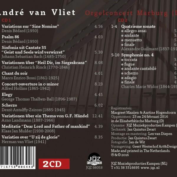 Tracklist CD