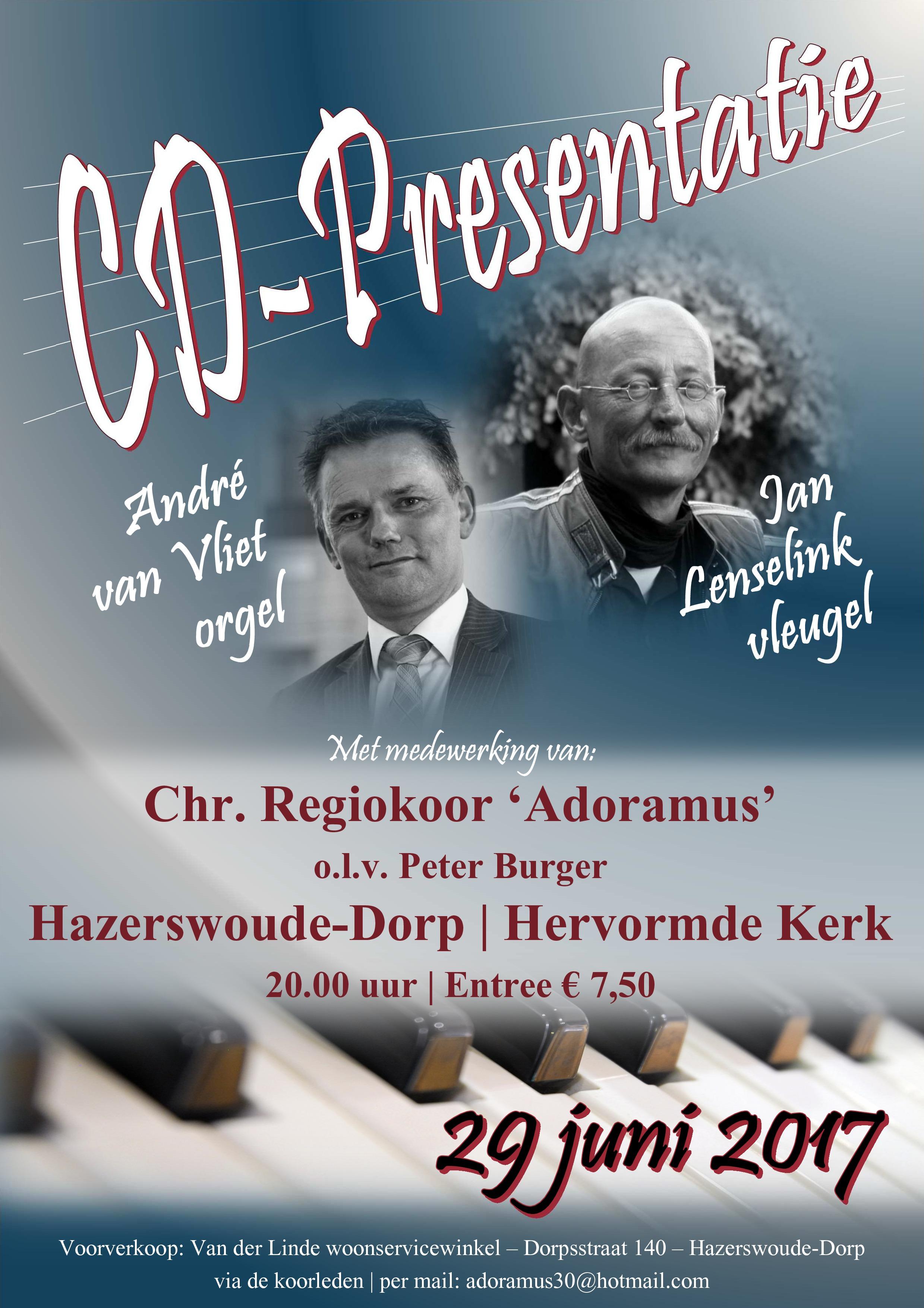 CD-presentatie Hazerswoude