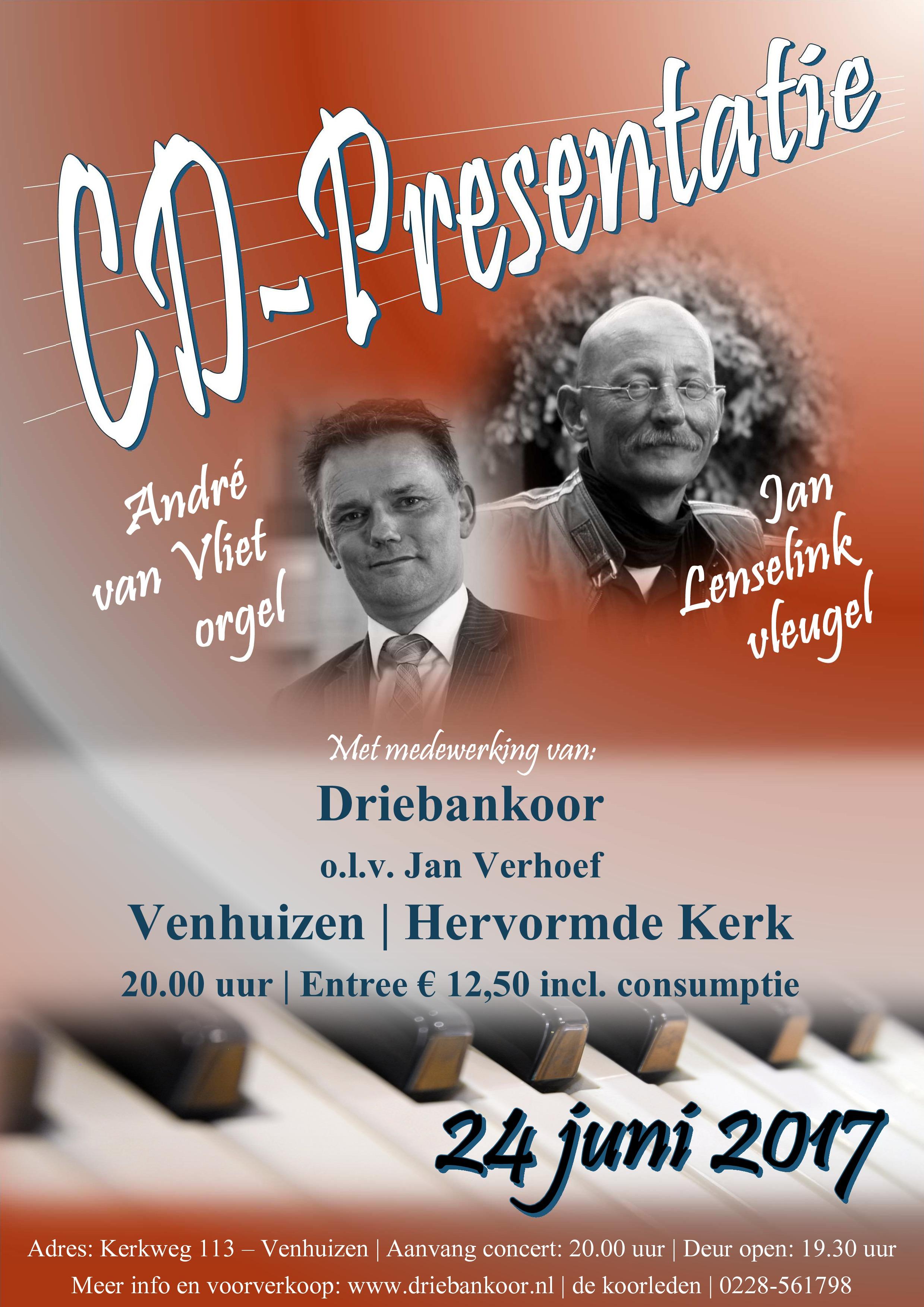 CD-presentatie Venhuizen