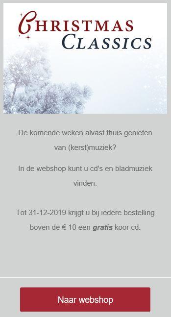Winkelactie december 2019